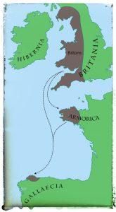 @lauranaturalmente Llegada de los Bretones a Gallaecia. mondoñedo