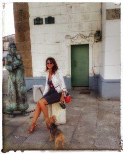 @laura_naturalmente Hermelina, Ulises y yo en Ares