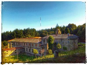 @laura_naturalmente Monasterio de Santa Catalina en Montefaro Ares