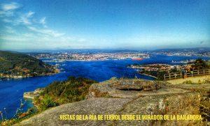 @laura_naturalmente Vistas desde el Mirador de la Bailadora en Montefaro Ares