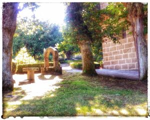 @laura_naturalmente Pozo en el Monasterio de Santa Catalina - alrededores - Jardín. Montefaro - Ares