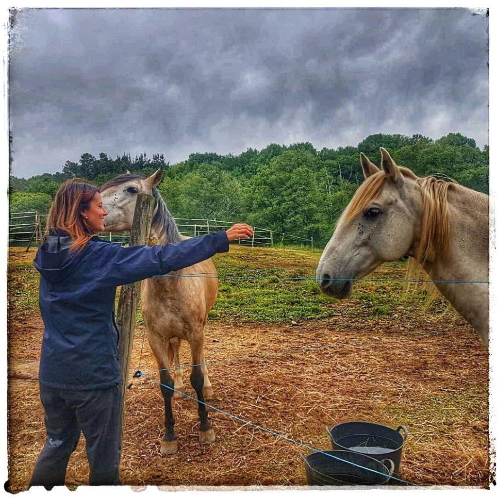 @laura_naturalmente amigos de los caballos club Hípico de Mouriscade Lalin Pontevedra
