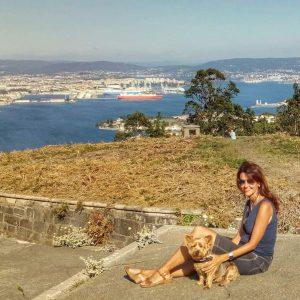 @laura_naturalmente Ares - Batería Antiaérea- Vistas de la Ría de Ferrol
