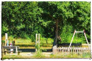 @laura_naturalmente Parque infantil de los Muiños de Barosa en Pontevedra