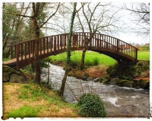 @laura_naturalmente Rutas por los senderos de los Muiños de Barosa Pontevedra