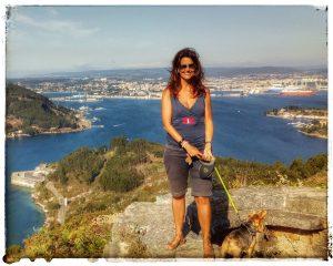 @laura_naturalmente Vistas desde Montefaro en Ares de la Ría de Ferrol.