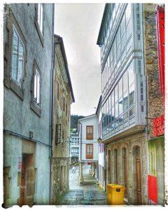 @lauranaturalmente Rúa Pardo de Cela en Mondoñedo - Mondoñedo ciudad Pueblo de Mondoñedo