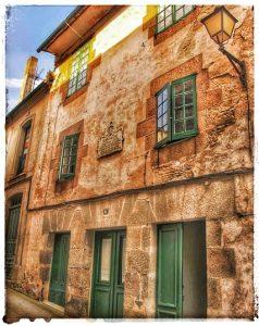 @lauranaturalmente casa donde nació Pascual Veiga autor de la música del Himno Gallego - Mondoñedo ciudad Pueblo de Mondoñedo
