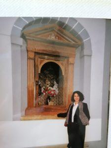 @lauranaturalmente El Cristo de la Calle Álvaro Cunqueiro de Mondoñedo.
