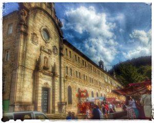 @lauranaturalmente Feria Medieval en el Seminario de Santa Catalina en Mondoñedo