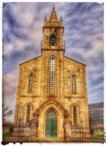 @lauranaturalmente Iglesia de Santiago en Mondoñedo - Mondoñedo ciudad Pueblo de Mondoñedo iglesia Nueva