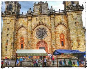 @lauranaturalmente Catedral de Mondoñedo en A Festa Das Carmiñas - Mondoñedo ciudad Pueblo de Mondoñedo