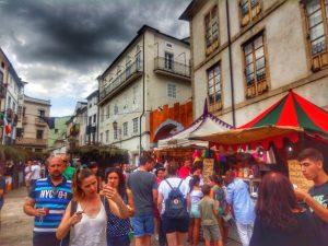 @lauranaturalmente Mercado Medieval en Mondoñedo