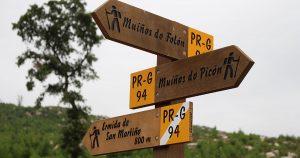 @lauranaturalmente Molinos Picón y Folón en O Rosal - Pontevedra - Buena señalización
