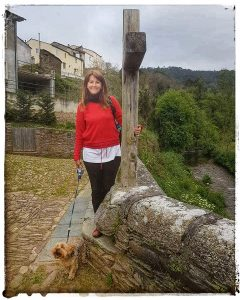 @lauranaturalmente Cruz del Ponte do Pasatempo en Mondoñedo - Mondoñedo ciudad Pueblo de Mondoñedo