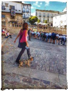 @lauranaturalmente en la plaza de la Catedral de Mondoñedo - antiguo consistorio arriba a la izquierda. Mondoñedo ciudad Pueblo de Mondoñedo