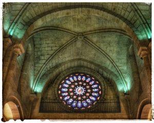 @lauranaturalmente Rosetón de la Catedral de Mondoñedo - Mondoñedo ciudad Pueblo de Mondoñedo