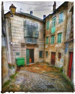 @lauranaturalmente calle Pardo de Cela en Mondoñedo - Mondoñedo ciudad Pueblo de Mondoñedo