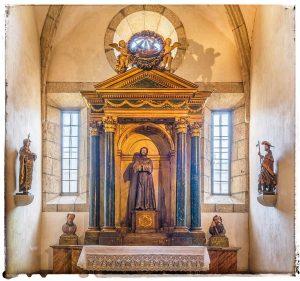 @lauranaturalmente Capilla de San Francisco en la Catedral de Mondoñedo. - Mondoñedo ciudad Pueblo de Mondoñedo