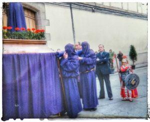 @lauranaturalmente Procesión del Santo Encuentro - Mondoñedo