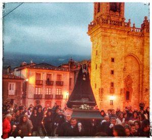@lauranaturalmente Procesión de la Soledad - Mondoñedo - Semana Santa Mindoniense