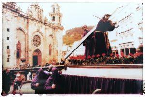 @lauranaturalmente Semana Santa >Procesión del Santo Encuentro Mondoñedo ciudad Pueblo de Mondoñedo