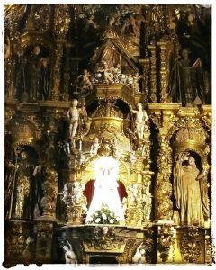 @lauranaturalmente retablo de la Virgen de los Remedios - Mondoñedo ciudad Pueblo de Mondoñedo