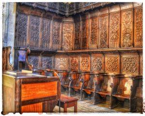 @lauranaturalmente actual órgano de la Catedral y parte del antiguo coro  - Mondoñedo ciudad Pueblo de Mondoñedo