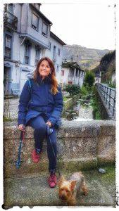 @lauranaturalmente Barrio Los Molinos después de una ruta - Mondoñedo ciudad Pueblo de Mondoñedo