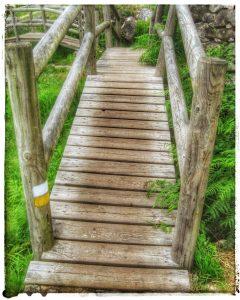@lauranaturalmente Molinos Picón y Folón en O Rosal - Pontevedra - Puentes de madera - buena señalización