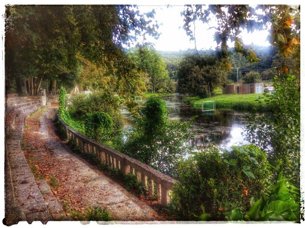 @laura_naturalmente Parque del Robledal Caldas de Reis - río Umia
