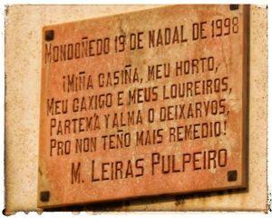 @lauranaturalmente Casa donde nació M. Leiras Pulpeiro - Mondoñedo ciudad Pueblo de Mondoñedo
