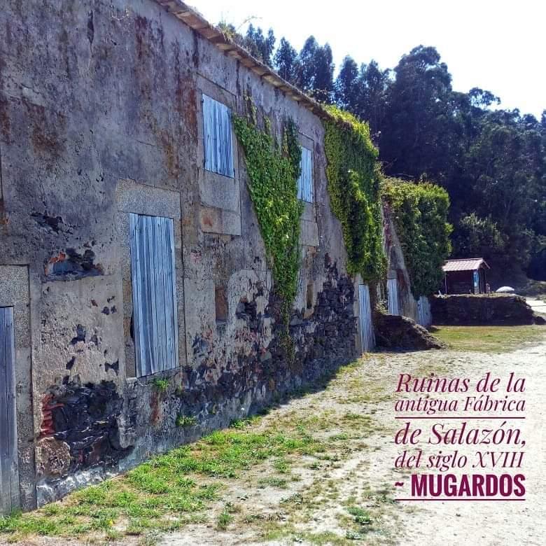 @laura_naturalmente Ruinas Antigua Fábrica de Salazón en Mugardos