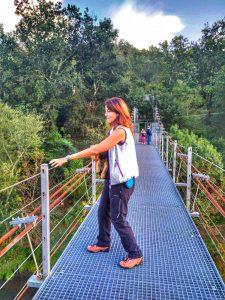 @laura_naturalmente El Puente Colgante del Xirimbao