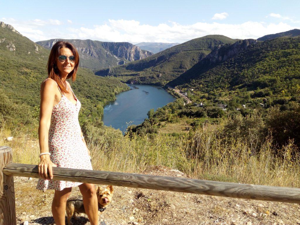 @lauranaturalmente vistas de Cobas en Rubiá Ourense