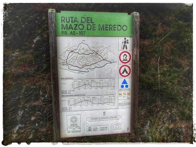 @lauranaturalmente Panel Informativo de la Ruta del Mazo de Meredo PR AS - 107