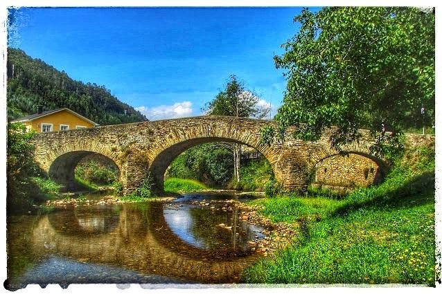@lauranaturalmente Puente Romano de Piantón Vegadeo Asturias