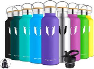 Botella de agua acero inoxidable colores