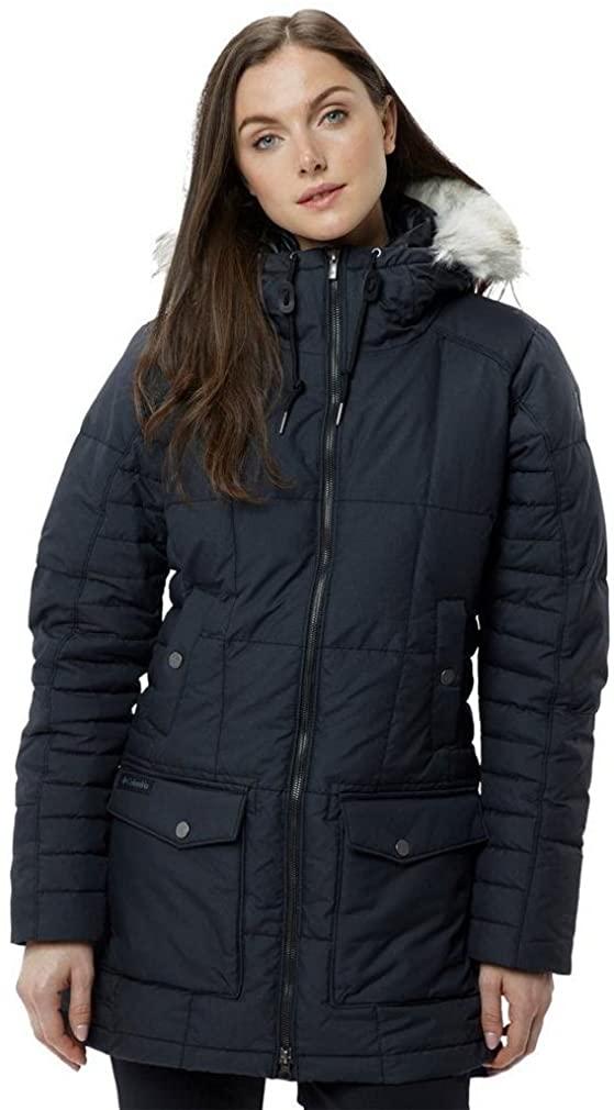 Columbia Della Fall Mid Jacket Chaqueta Larga, Mujer