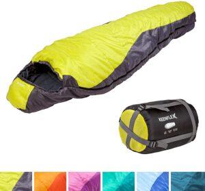 Saco de Dormir para 3 Estaciones cálido y Ligero varios colores